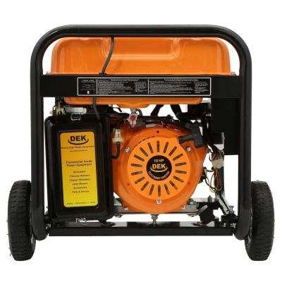Pro Series 4550-Watt Gasoline Powered Portable Generator with 170cc 100% Copper Alternator and 12 Gallon Gas Tank
