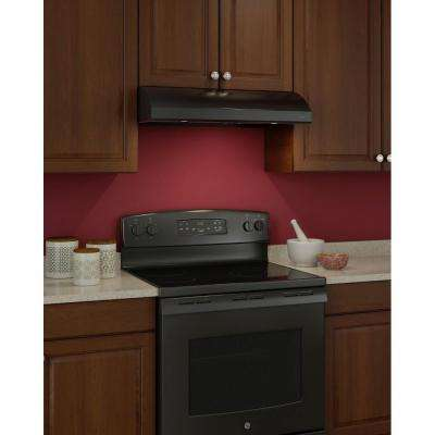 Osmos 30 in. Convertible Range Hood in Black