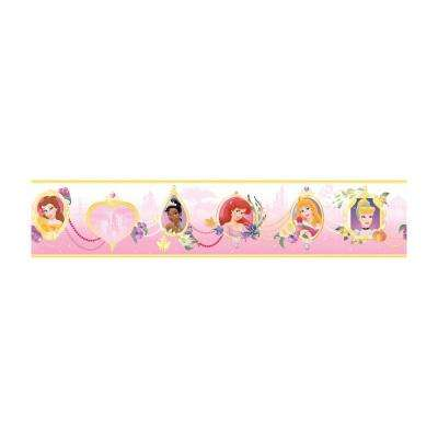 9 in. H Princess Frames Border