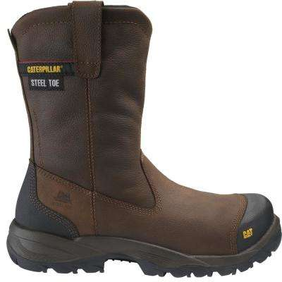 Men's Spur Wellington Work Boots - Steel Toe