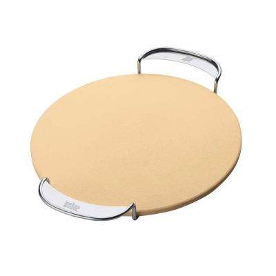 Original Gourmet BBQ System Pizza Stone Insert with Carry Rack