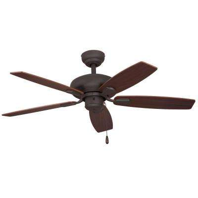 Winston 44 in. Bronze Ceiling Fan