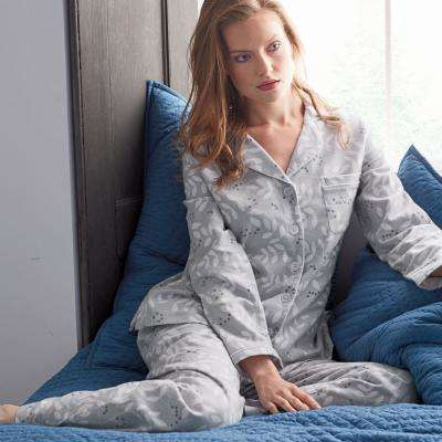 Cotton Flannel Women's Pajama Set
