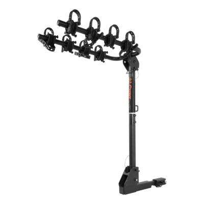 Extendable Hitch Mounted Bike Rack