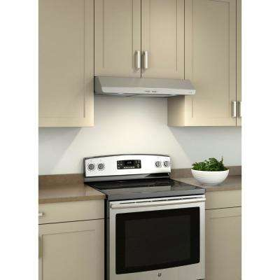 Sahale BKSH1 30 in. Convertible Under Cabinet Range Hood with Light in Stainless Steel