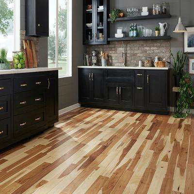 Hickory Natural 3/4 in. Thick x 5 in. Wide x Random Length Solid Hardwood Flooring (20 sq. ft. / case)