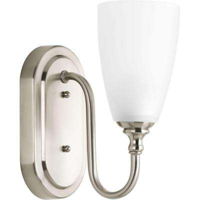 Revive Collection 1-Light Brushed Nickel Bath Light