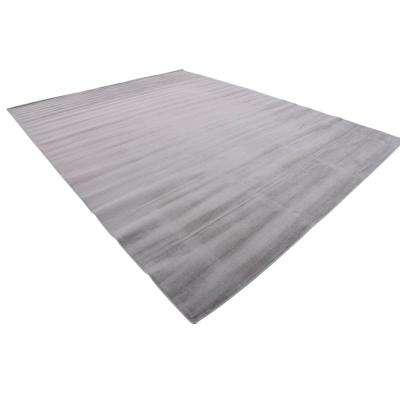 Williamsburg Solid Gray 10' 0 x 13' 0 Area Rug