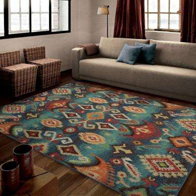 Eastern Tradition Multi Southwestern 8 ft. x 11 ft. Indoor Area Rug