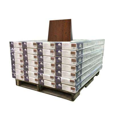 Hickory Truffle 3/8 in. Thick x 4-3/4 in. Wide x Random Length Engineered Click Hardwood Flooring (924 sq. ft. / pallet)