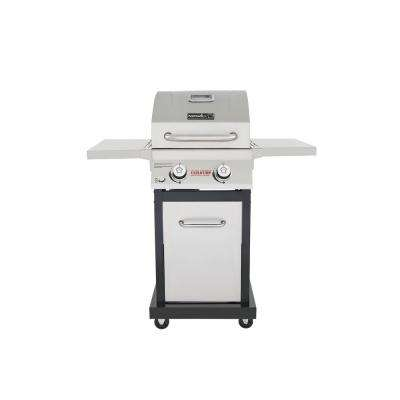 Evolution 2-Burner Propane Gas Grill in Stainless Steel with Infrared Technology
