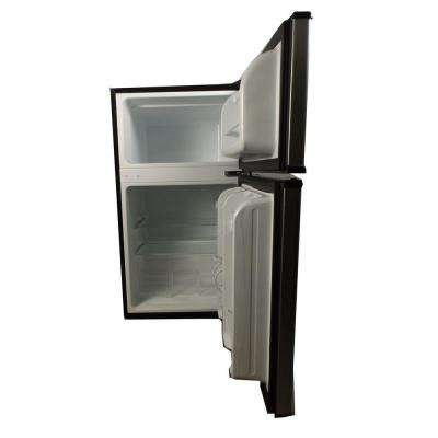 3.1 cu. ft. Mini Refrigerator in Stainless Steel