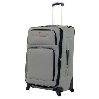 28 in. Spinner Suitcase in Pewter