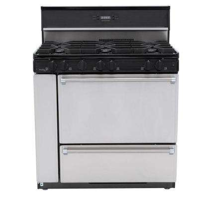 ProSeries 36 in. 3.91 cu. ft. Gas Range in Stainless Steel