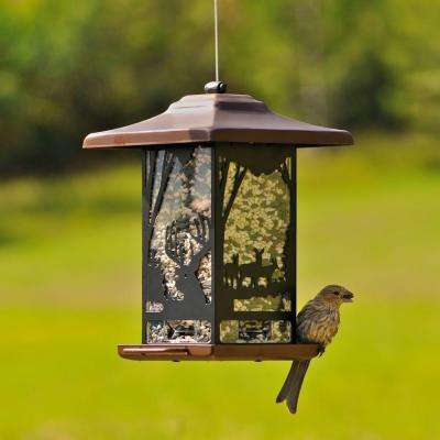 Wilderness Lantern Hanging Bird Feeder - 2 lb. Capacity