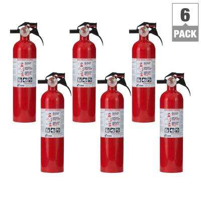 1-A:10-B:C Fire Extinguisher (6-Pack per Case)