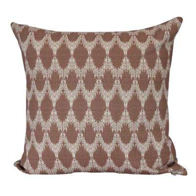26 in. Peace 2 Geometric Print Decorative Pillow