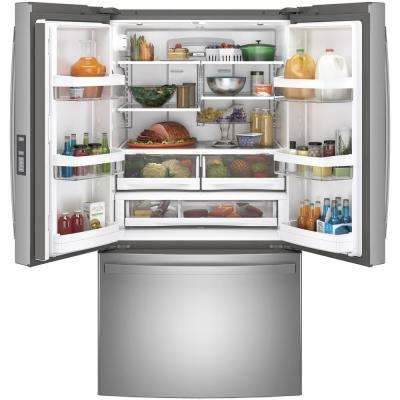 28.7 cu. ft. French Door Refrigerator in Fingerprint Resistant Stainless Steel, ENERGY STAR