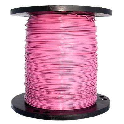 2500 ft. 14 Pink Solid THHN Wire