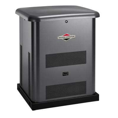 8,000-Watt Automatic Air Cooled Standby Generator with 50 Amp 10-Circuit Transfer Switch
