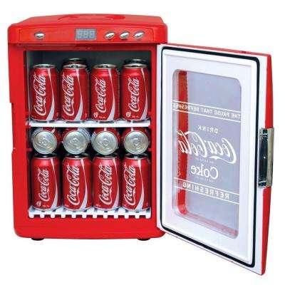 2.21 cu. ft. Coca-Cola Display Fridge