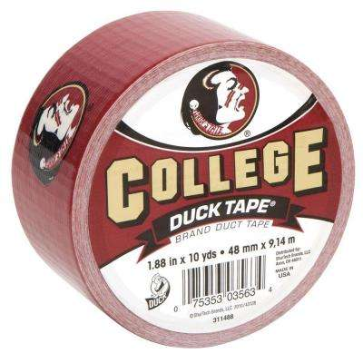 College 1-7/8 in. x 30 ft. Florida St Duct Tape (6-Pack)