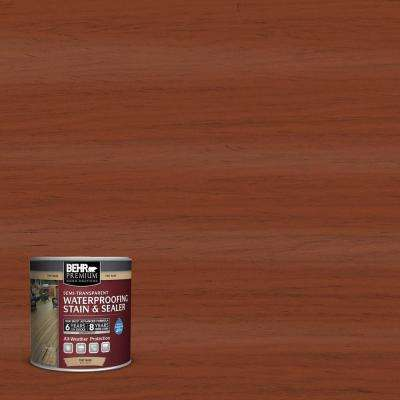 8 oz. #ST142 Cappuccino Semi-Transparent Waterproofing Stain and Sealer Sample