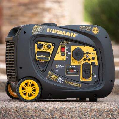 3300/3000 Watt Electric Start Inverter Portable Generator CARB and cETL Certified