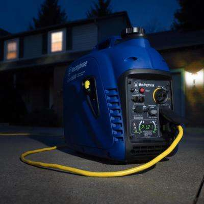2,500/2,200-Watt Super Quiet Gas Powered Inverter Generator with LED Display