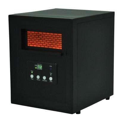Life Pro Series 1000-Watt 4-Element Infrared Electric Portable Heater with Remote