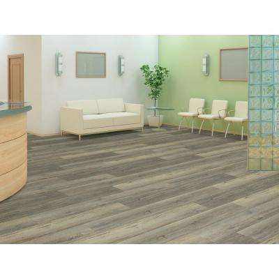 Melrose Oak Click 9 in. x 59 in. Harvest Resilient Vinyl Plank Flooring (21.79 sq. ft. / case)