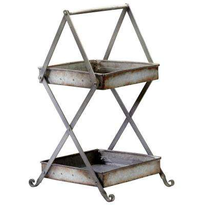 Prospect 22.25 in. x 11.5 in. Iron Stand
