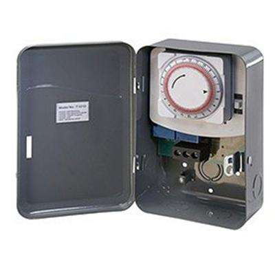 40 Amp 125-Volt Single Pole Single Throw Mechanical Timer Switch