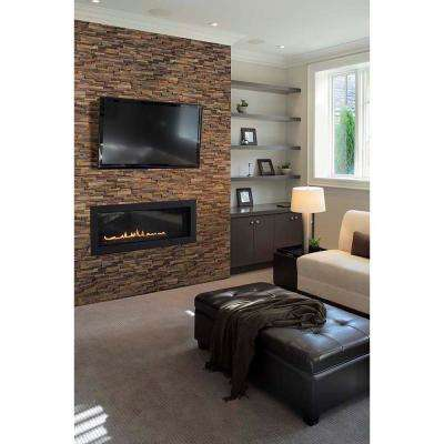 Three Rivers Gold Ledger Panel 6 in. x 24 in. Natural Slate Wall Tile (12 cases/48 sq. ft./pallet)