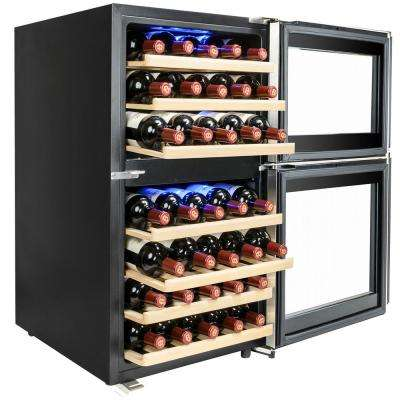 19.5 in. 45-Bottle Wine and 90-Can Compressor Beverage Cooler