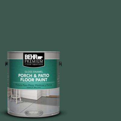 1-Gal. #PFC-45 Patio Green Gloss Porch and Patio Floor Paint