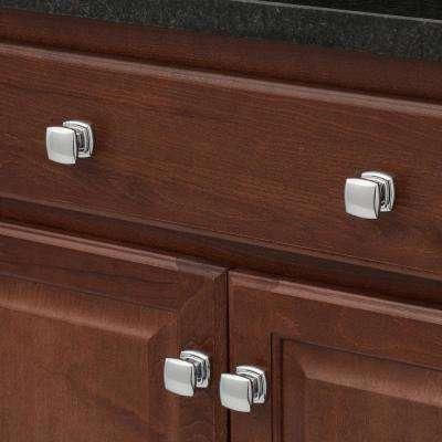 1-1/4 in. Chrome Cabinet Knob