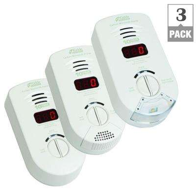 Worry Free 10-Year Location Based CO Alarms Bundle (3-Pack)