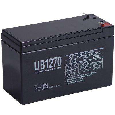 Sealed 12-Volt 7 Ah Capacity F1 Terminal AGM Battery