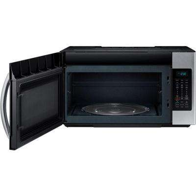 30 in. W 1.8 cu. ft. Over the Range Microwave in Fingerprint Resistant Stainless Steel with Sensor Cooking