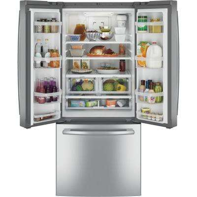 20.8 cu. ft. French Door Refrigerator in Stainless Steel