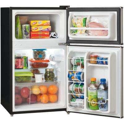 3.1 cu. ft. Mini Refrigerator in Silver Mist, ENERGY STAR