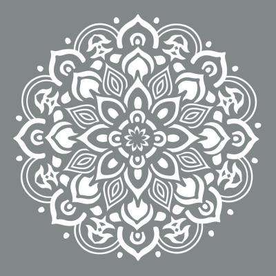 Americana Decor 10 in. x 10 in. Mandala Stencil