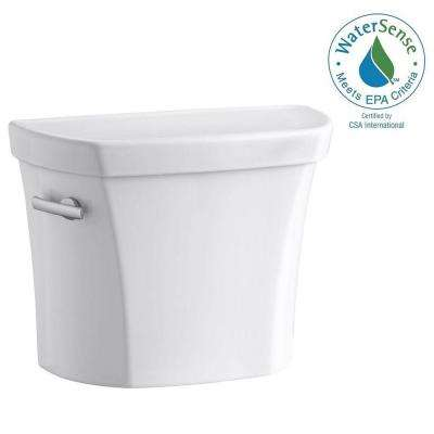 Wellworth 1.28 GPF Single Flush Toilet Tank Only with Insuliner Tank Liner and Locks in White
