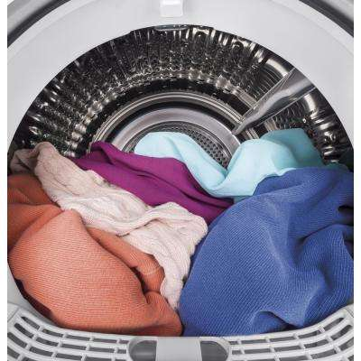 4.1 cu. ft. 240-Volt White Electric Ventless Dryer, ENERGY STAR