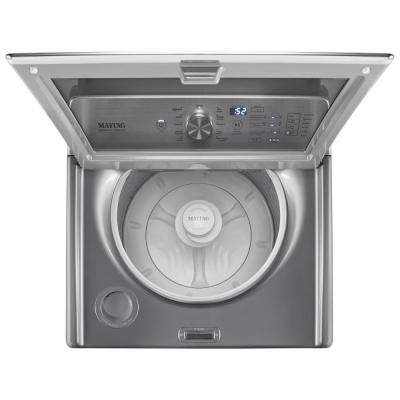 4.7 cu. ft. High-Efficiency Metallic Slate Top Load Washer with PowerWash Cycle