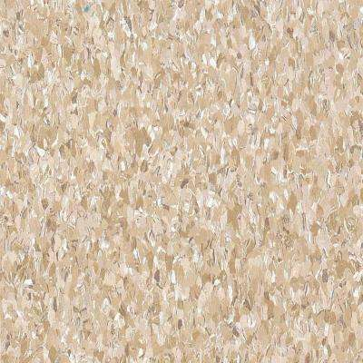 Imperial Texture VCT 3/32 in. x 12 in. x 12 in. Cottage Tan Standard Excelon Vinyl Tile (45 sq. ft. / case)