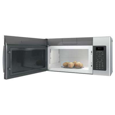 1.7 cu. ft. Over the Range Microwave in Stainless Steel with Sensor Cooking, Fingerprint Resistant