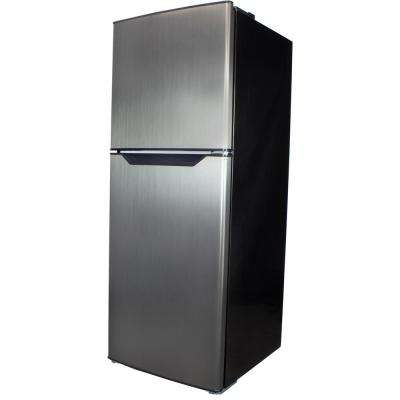 7.0 cu. ft. Free-Standing Top Freezer Refrigerator, Frost Free in Stainless Steel