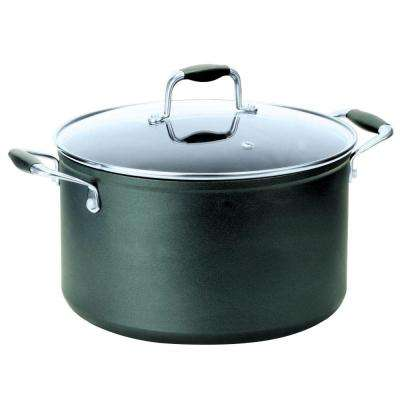 Symphony 8 Qt. Stock Pot with Lid in Slate